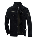 Fashion Mens Cotton Flight Jacket