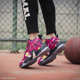 Fashion Floral Printed Baseball  Sport Shoes