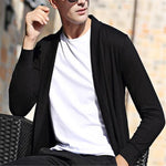 Fashion Youth Casual Soft Long Sleeve Cardigan Outerwear