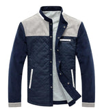 Man Casual Baseball Jacket