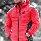 Winter Sports Hooded   Fashion Coat