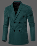 Gentle Plain Slim Lapel Collar Simple Suit Coat