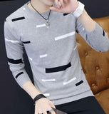 Round Necked Dress Knit Bottoming Shirt
