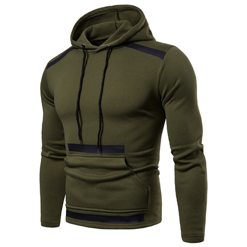 Fashion Trend Stitching Sports Hoodie
