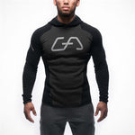 Men's Fitness Tights Sports Hoodie