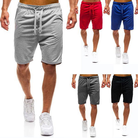 Basic Large Size Solid Color Sports Beach Shorts