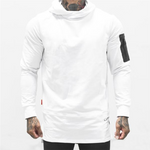 Men's Fashion Sporty Solid Color Hoodie