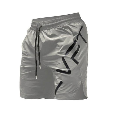 Fitness Solid Color Quick-Drying Training Shorts
