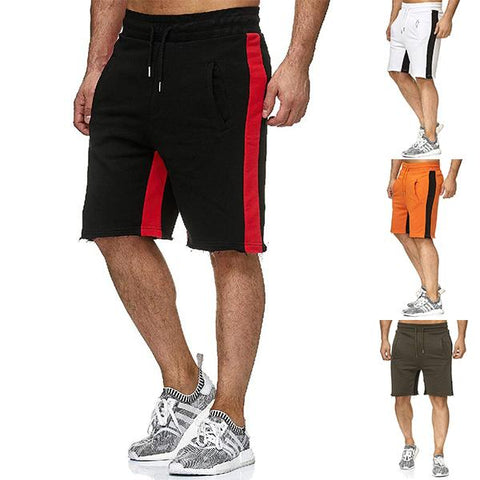 Men's Street Style Colorblock Shorts