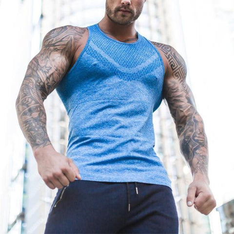 Fitness Fashion Sweat-Absorbent Breathable Tank