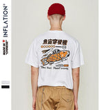 Street Style Printed Short-Sleeved T-Shirt