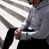 Fitness Cotton Slim Sports Hoodie