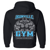 Sports Fitness Muscle Loose Hoodie