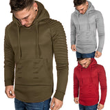 Casual Solid Color Top Hoodie
