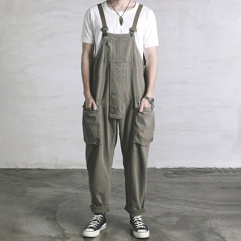 Stylish casual baggy suspenders LH016