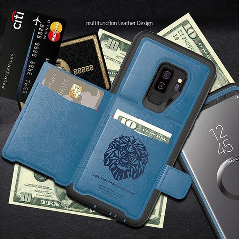 Luxury Musttrue Smart Flip Cover Soft Wallet Case For Samsung Galaxy S9 / Note 9