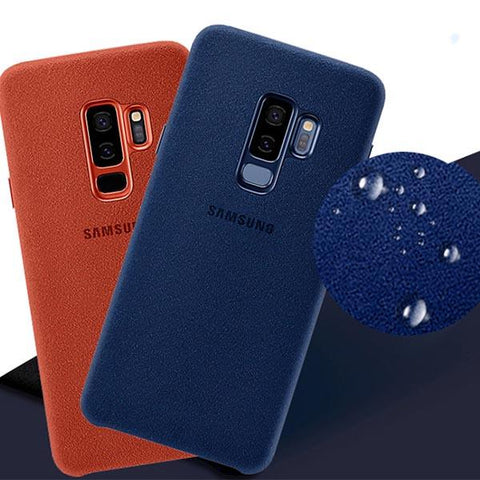 Original Luxury Full Protection Suede Leather Cover Samsung Galaxy
