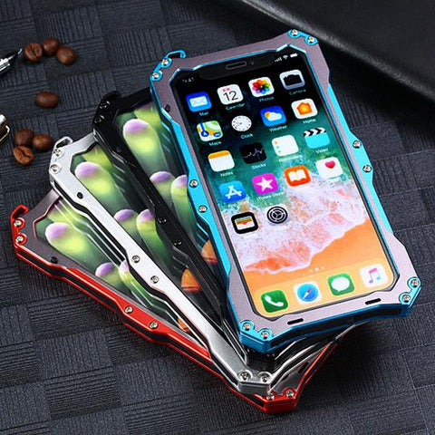 360 Full Protection Luxury Steel Flip Cases For Iphone