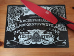Ornate ouija glass cutting board-small