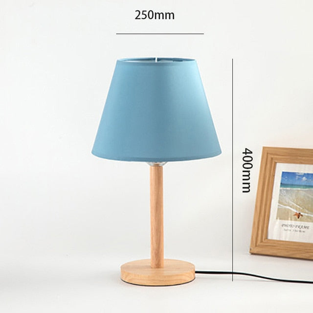 Nordic Blue Lamp Shade