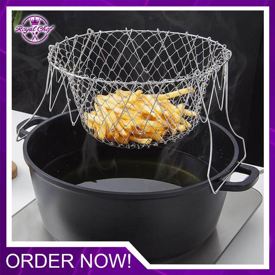 Stainless Steel Chef Basket (BUY 1 GET 1 FREE)