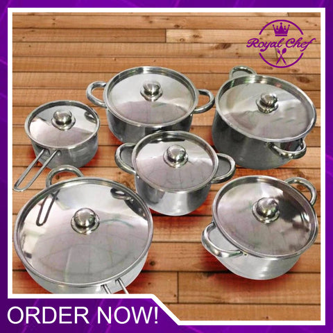 12 Pcs Thickening Cookware Set [FREE SHIPPING + 60% OFF]
