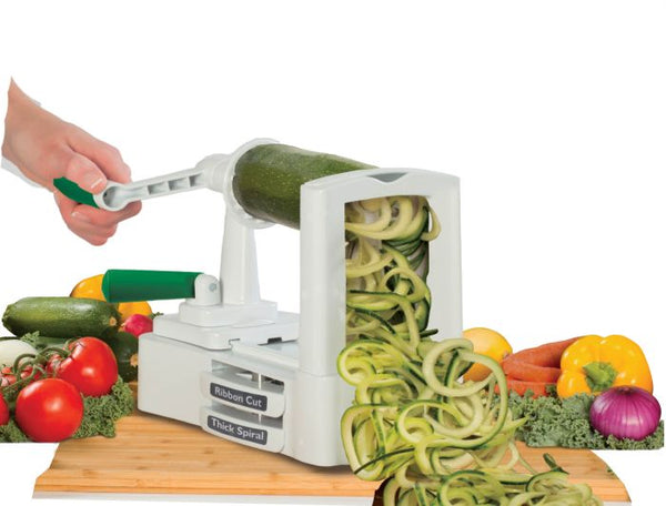 Quickly Spiral Slice Vegetables