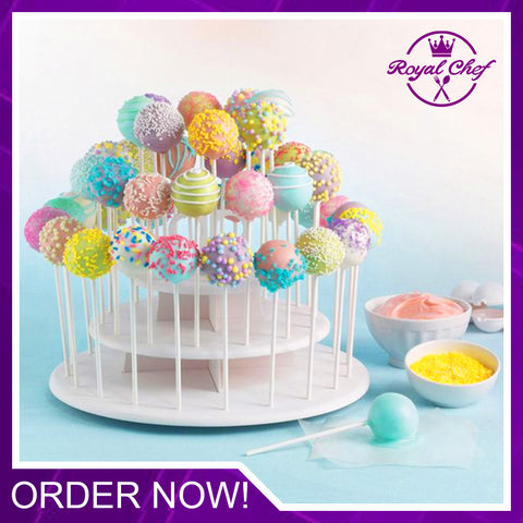3-Tier 42 Holes Cake Stand
