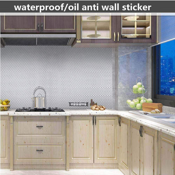 Adhesive Kitchen Oil-Proof Sticker