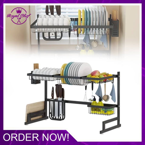Dish Rack Kitchen Supplies Storage