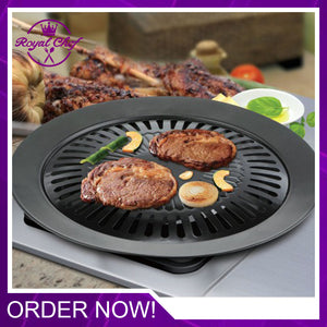 Korean Style Non-Stick Smokeless Indoor Barbecue Grill