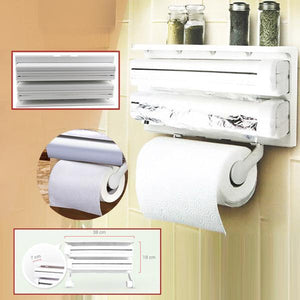 Kitchen Triple Paper Dispenser [FREE SHIPPING PLUS 60%OFF]
