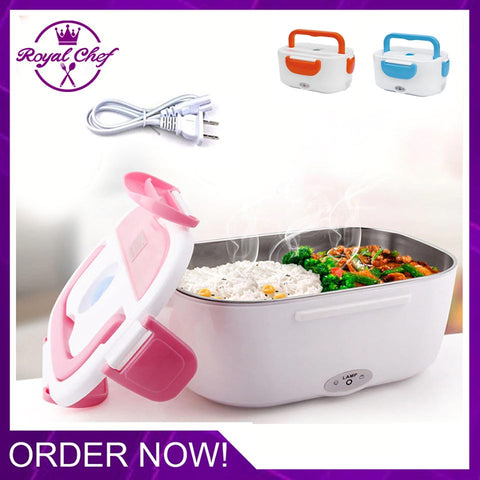Bento Style - Portable Heating Lunch Box
