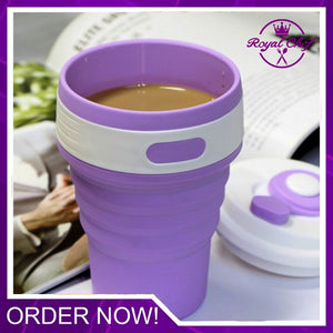 Collapsible Silicone Coffee Cup (BUY 1 GET 1 FREE)