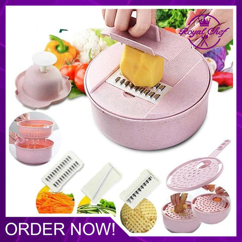 9-in-1 Multi-Function Kitchen Food Cutter