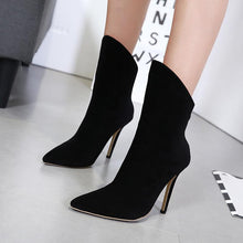 Load image into Gallery viewer, Joker High-Heeled Pointed Fashion Boots