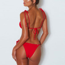Load image into Gallery viewer, Summer Plain Vacation Bikini Swimwear