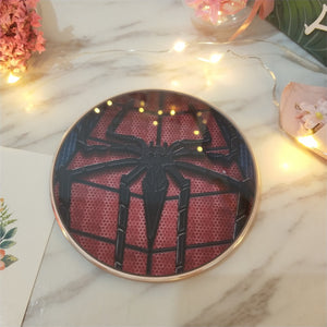 Spider Man Iron Man Qi Wireless Charger