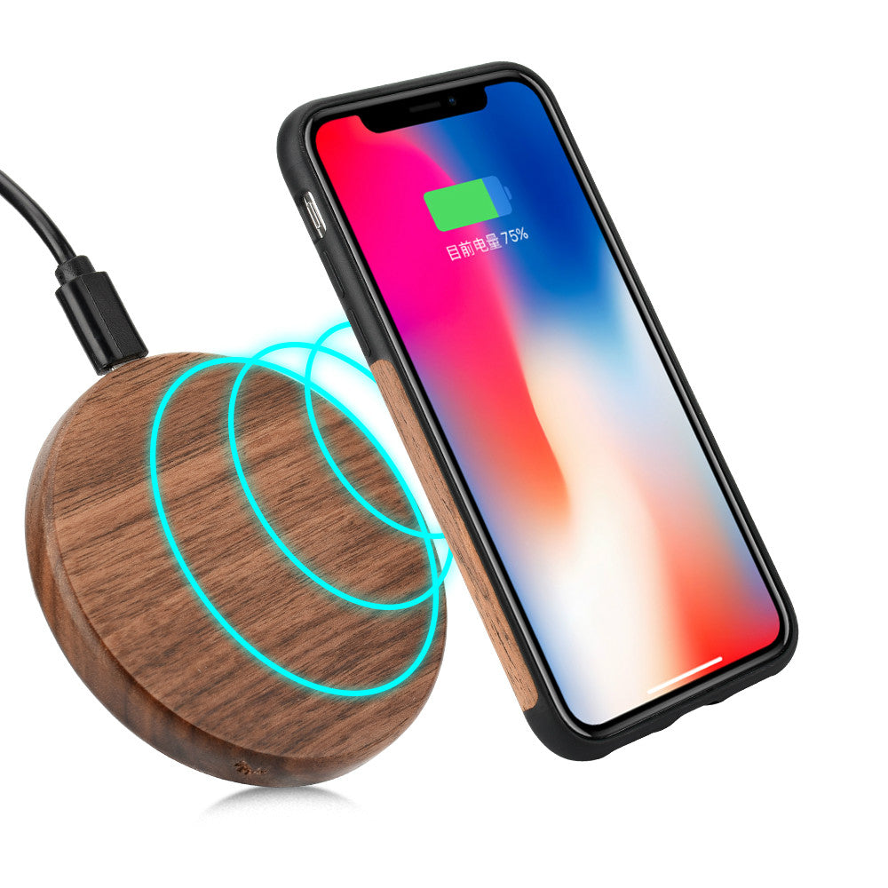 Wood Grain Wireless Fast charger