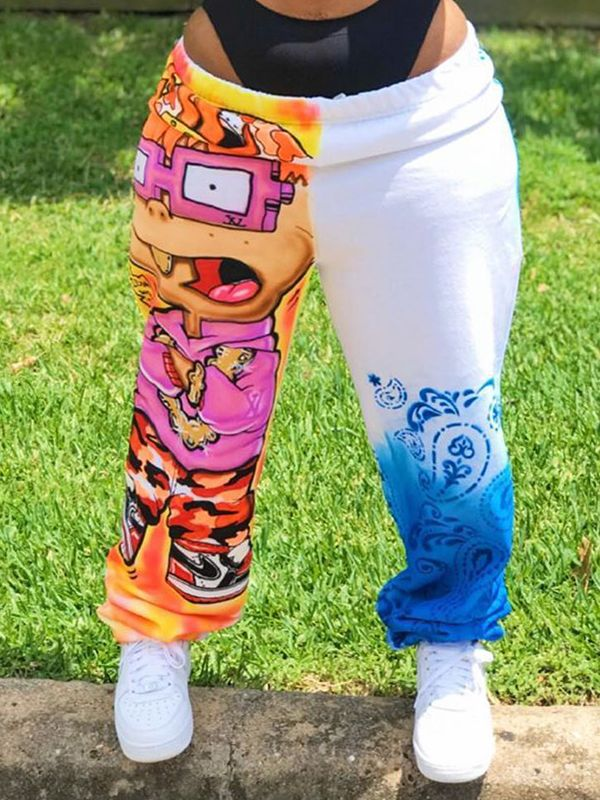 Cartoon Jogger Pants--S