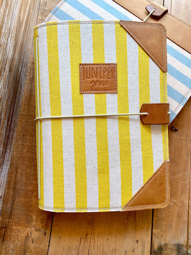 The Classic Juniper Journal in Lemon Cabana