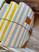 Load image into Gallery viewer, Cabana Stripe in Lemon Juniper Journal