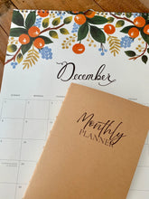 Load image into Gallery viewer, Monthly Planner Journal Insert