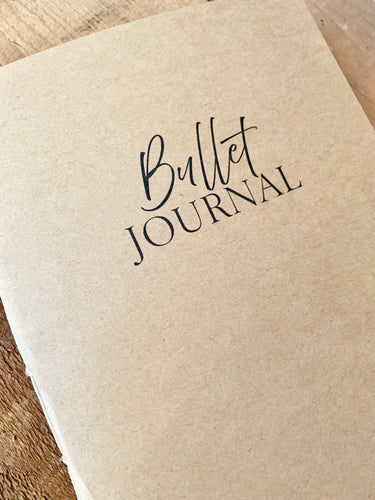 Bullet Journal Insert
