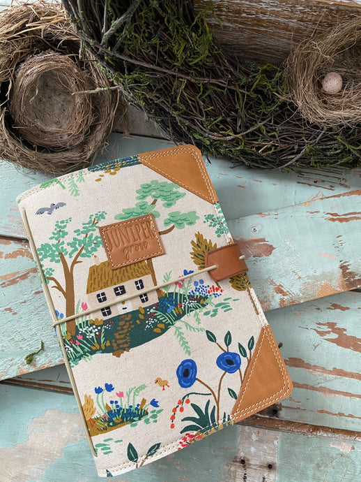 The Classic Juniper Journal in Cottage Garden
