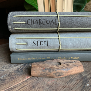 The Classic Juniper Journal in Charcoal Canvas