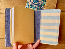 Load image into Gallery viewer, The Mini Pocket Journal in Periwinkle Cabana