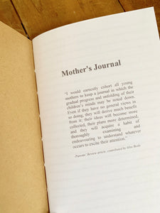 Mother's Journal Insert