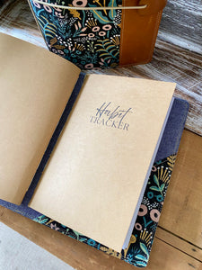 The Classic Juniper Journal in Midnight Tapestry