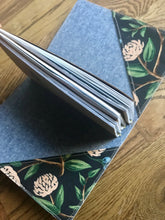 Load image into Gallery viewer, The Classic Juniper Journal in Peonies, Navy